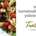 LA TAVOLA ITALIANA Trattoria Tammerin Puistossa