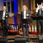 Gospel  Gentlemen -konsertti ei hitsannut uskottavasti Jaakko Löyttyä, Pekka Simojokea ja Petri Laaksosta yhdeksi kristilliseksi musiikkiperheeksi