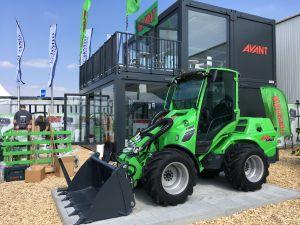 Ylöjärveläinen Avant Tecno Oy esitteli ensimmäisen kerran virallisesti uutta Avant 800 -sarjaa Bauma-messuilla Münchenissä Saksassa 8.-14. huhtikuuta. (Kuva: Avant Tecno Oy)