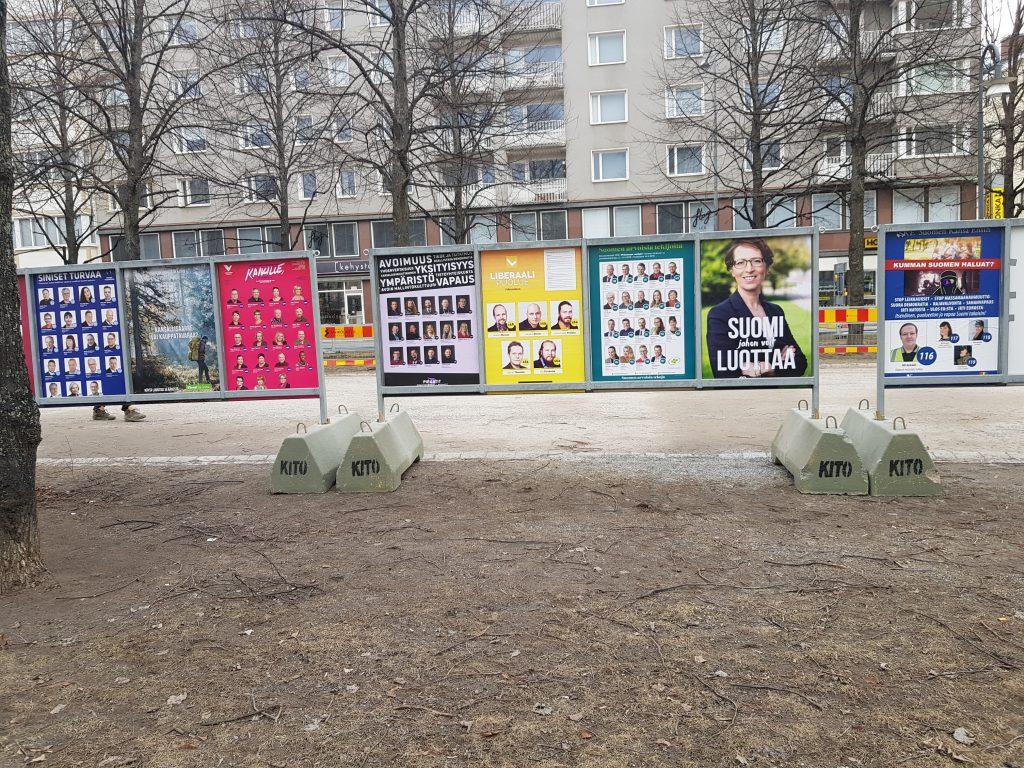 Pirkanmaalaiset ovat äänestäneet selvästi vilkkaammin tämänkertaisissa eduskuntavaaleissa kuin vuoden 2015 vaaleissa. (Kuva: Matti Pulkkinen)