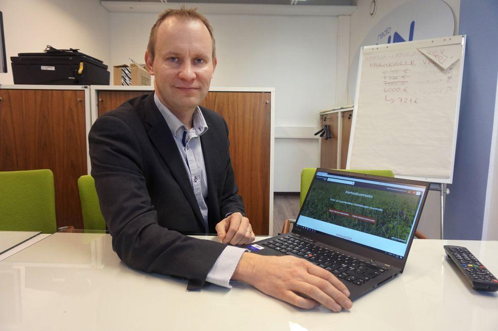 MTK:n elinkeinojohtaja Marko Mäki-Hakola odottaa paljon tässä kuussa avatulta Kiertoasuomesta.fi-markkinapaikalta. Se levitetään valtakunnalliseksi kiertotalousmarkkinapaikaksi.