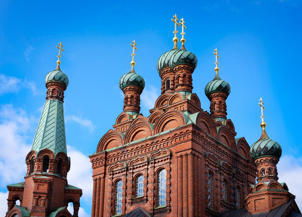 Tampereen ortodoksinen seurakunta sai uuden seurakunnanvaltuuston viime sunnuntaina päättyneissä vaaleissa. Tampereen ortodoksinen kirkko saavuttaa tänä vuonna 120 vuoden iän. (Kuva: Sami Rievinen)
