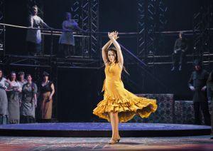 Mezzosopraano Niina Keitel tekee Carmenin rooli. (Kuva: Petri Nuutinen)