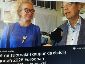Tampereen pormestari Lauri Lyly (sd.) on vakuuttunut, että Tampereesta ja Pirkanmaasta tulee Euroopan unionin vuoden 2026 kulttuuripääkaupunki. Tampere pääsi mittelössä jatkoon Oulun ja Savonlinnan lisäksi. (Kuva: Matti Pulkkinen)
