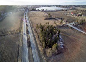 Ylöjärven kehitys- ja kasvuodotukset ovat Mäkkylän pelloissa. Niiden tulevan käytön suunnittelu on parhaillaan käynnissä. (Kuva: Rami Marjamäki)