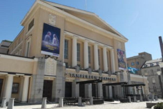 Tampereen Teatteri keskeyttää yleisötilaisuudet